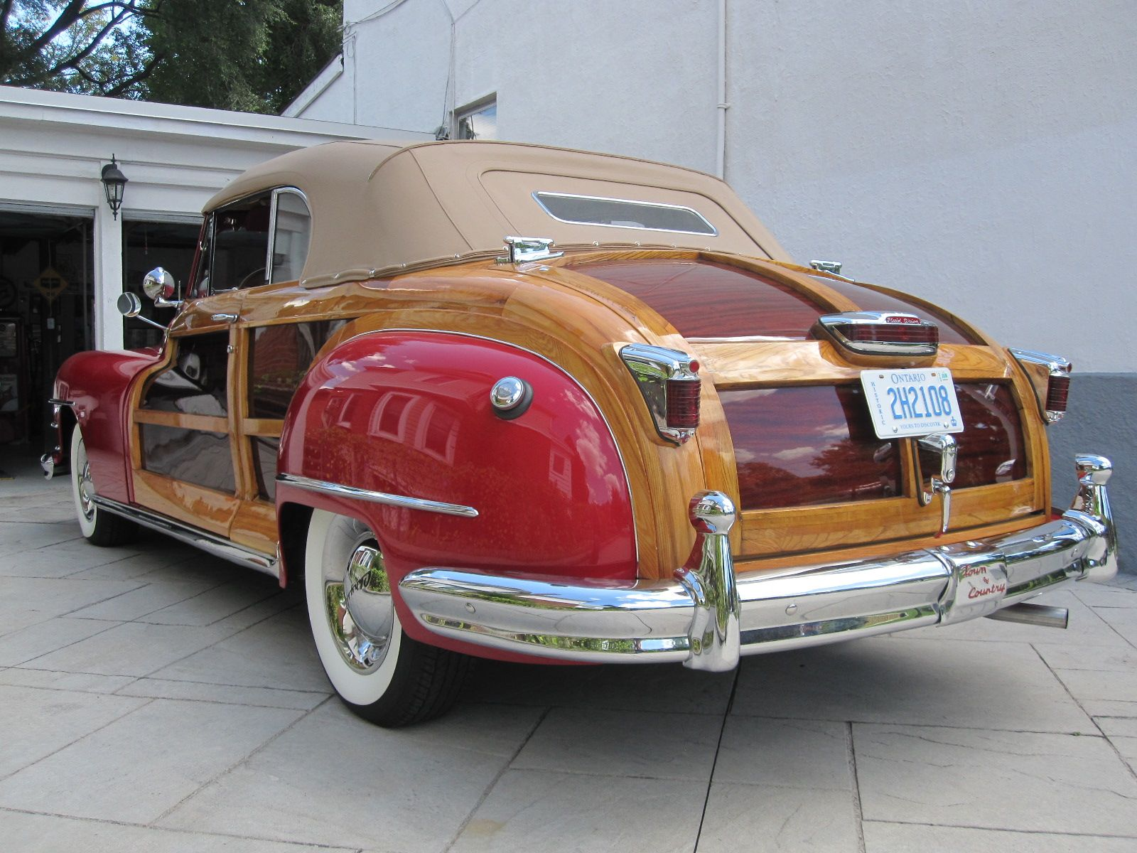 1948 Chrysler Town Country Convertible Old Is New Again Inc Pontiac Torpedo
