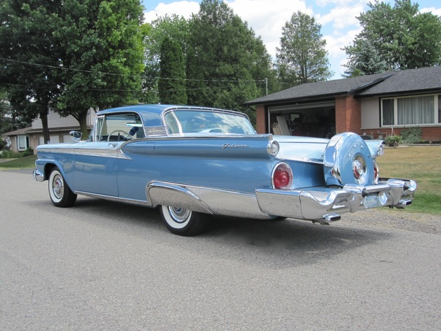 1959 Ford Galaxie Skyliner Retractable Old Is New Again Inc