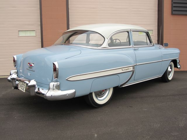 1954 chevrolet bel air 2 door coupe old is new again inc for 1954 chevrolet bel air 4 door