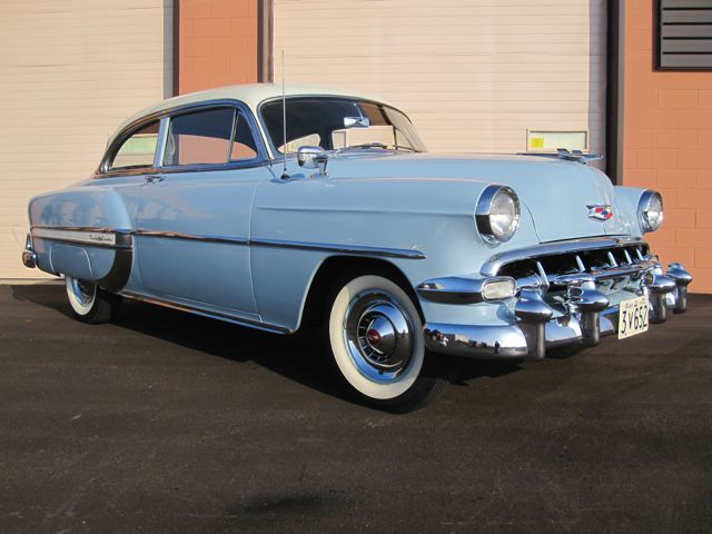 1954 chevrolet bel air 2 door coupe old is new again inc for 1954 chevy belair 4 door