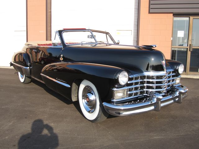 1947 Cadillac Series 62 Convertible Coupe | Old Is New Again Inc.