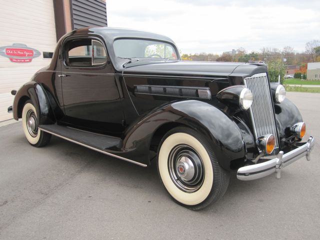 1936 packard 120 3 window coupe old is new again inc for 1937 packard 3 window coupe