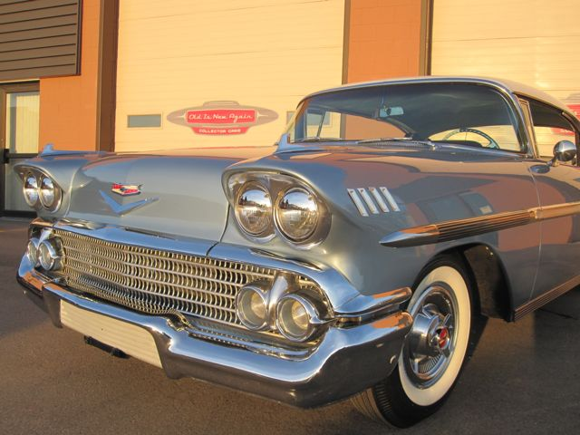 1958 chevrolet impala 2 door sports coupe quality restoration on an