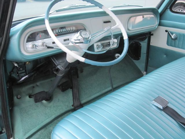 1964 Chevrolet Corvair Greenbrier 9 Passenger Van Old Is