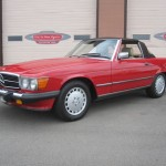 1989-Mercedes-Benz-560sl-Roadster-Conevrtible-all-original-low-mileage - 03
