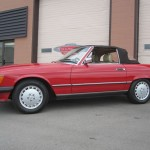 1989-Mercedes-Benz-560sl-Roadster-Conevrtible-all-original-low-mileage - 04