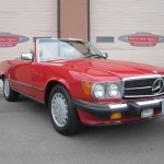 1989-Mercedes-Benz-560sl-Roadster-Conevrtible-all-original-low-mileage - 07