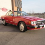1989-Mercedes-Benz-560sl-Roadster-Conevrtible-all-original-low-mileage - 10