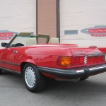 1989-Mercedes-Benz-560sl-Roadster-Conevrtible-all-original-low-mileage - 16