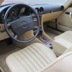 1989-Mercedes-Benz-560sl-Roadster-Conevrtible-all-original-low-mileage - 17