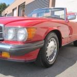 1988 MB 560SL11