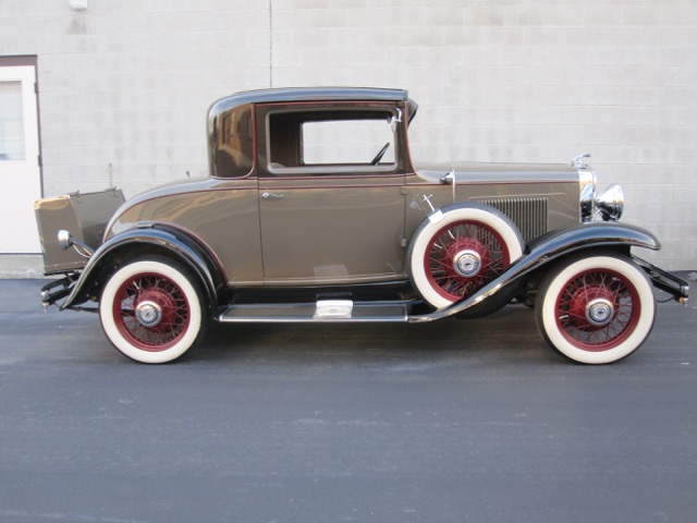 1931 chevrolet rumbleseat 3 window coupe new arrival old is new again inc