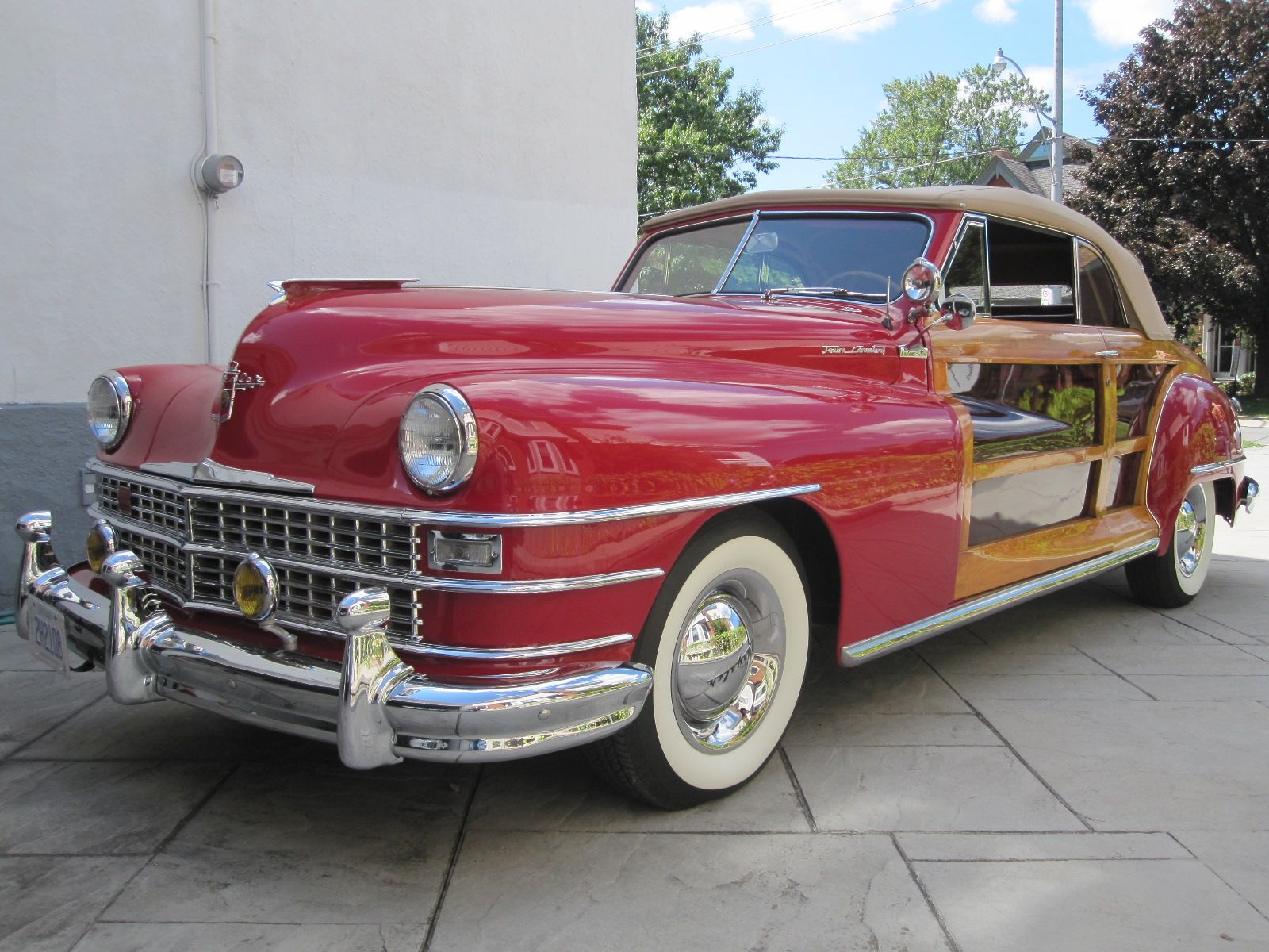 1948 Chrysler Town Country Convertible Old Is New Again Inc 1949 And Hubcaps